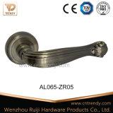 Antiker Messingaluminiumtür-Griff mit Verschluss-Deckel (AL044-ZR05)