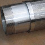 Draht wickelte All-Welded Wasser-Quellfilter-Rohr/Johnson-Bildschirme/Keil-Draht-Bildschirme ein