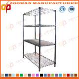 4 Уровень хром металлический провод сетки торговые полки для установки в стойку для хранения (ZHw180)
