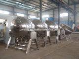 SUS304 de Ketel van het Jasje van het roestvrij staal met Mengapparaat