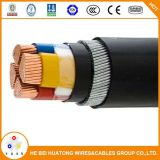 Baixa voltagem no fio de aço Isolados em XLPE cabo de alimentação blindados