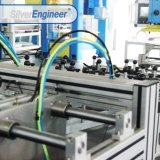 Folha de alumínio de alta velocidade Máquina de perfuração