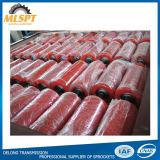 Equipamentos de manuseio de Roletes da Esteira Transportadora de cor vermelha