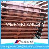 Ligne de moulage de bâti moule utilisé pour le matériel de fonderie