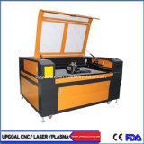 Cheap acero inoxidable y madera maciza de corte láser de CO2 Máquina de grabado con el doble de los Jefes 1300*900mm