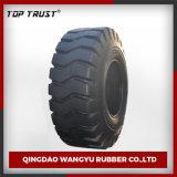 Modelo E3/L3 con los neumáticos superiores del diagonal OTR del cargador de la marca de fábrica de la confianza (26.5-25)
