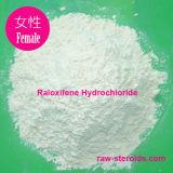 Pálido - o hidrocloro amarelo de Serm Raloxifene interfere com a Anti-Hormona estrogénica