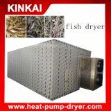 Asciugatrice a scatti dei pesci commerciali, macchina secca dei frutti di mare