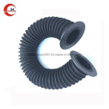 Forma redonda com o parafuso plástico da tampa contra poeira