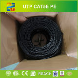 Cat5e cable al aire libre / Cat5 de 4 pares de cable UV