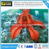Électro encavateur en acier hydraulique de peau d'orange de déchets de rebut
