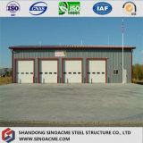 Magazzino prefabbricato della struttura d'acciaio di qualità di basso costo manifatturiero in Cina