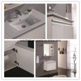 Der populärste hängende Wand-hohe Glanzfarbe-Badezimmer-Eitelkeits-Schrank