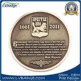 記念品のギフトのためのロゴの倍の側面のMatelのカスタマイズされた硬貨