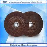 7 'インチの樹脂の動力工具のための担保付きの研摩の粉砕車輪