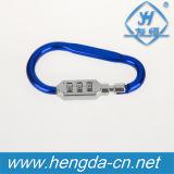 Yh9238 em forma de gancho colorida Mini 3 dígitos para combinação com reposição mosquetão de alumínio