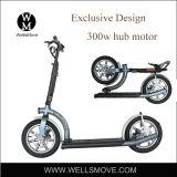Veicolo personale leggero del trasporto di nuovo disegno di Wellsmove che piega mobilità elettrica 300W del motorino