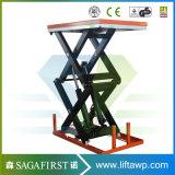 5000kg 5ton hydraulischer LKW-elektrischer Tisch Scissor Aufzug