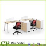 Bureau de poste de travail de personnel de modèle de bureaux d'ordinateur avec le support de CPU