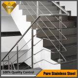 プロジェクト設計(JBD-B002)のためのステンレス鋼階段バルコニーの手すり