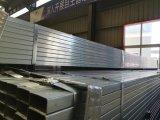 Matériau de construction carré de zingage de pipes en acier sur l'usine de la Chine de sites Web d'achats