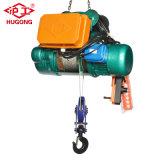 Электрическая лебедка 30m машинного оборудования крана веревочки провода малая поднимаясь