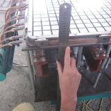 GRP Gradeamento Skidproof Fibra de máquina de moldagem