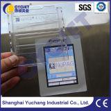 Carte manuelle de plastique d'impression de machine d'impression en lots de Cycjet Alt390