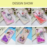 Мода Printting жидкость преодоление зыбучих песков силиконовый чехол для телефона iPhone7