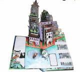 Profesional popular la impresión de papel personalizado Libro de los niños en 3D.