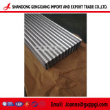 Feuille de toiture/ galvanisé recouvert de zinc tôle de toit/gi tôle de toit