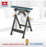 多機能の高さの4つの機能サポートヘッド(YH-WB004)が付いている調節可能な肉屋ブロックの仕事台の上