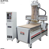 Woodworking Machine Furnace - Head CNC Router Sx1325A-4