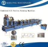 Aprovado pela CE Telha vidrada máquina de formação