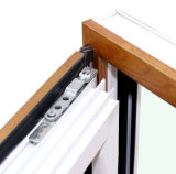 ألومنيوم خشبيّة شبّاك نافذة مع تعقّب هويس متعدّد [ك03056]