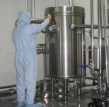 Chauffage au vapeur du lait Stérilisateur Uht