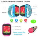 Sos/GPS Y9のスマートな腕時計の電話を追跡している多彩な子供GPS