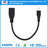 USB del USB in bianco e nero 3.1type C OTG di 0.2m per MacBook