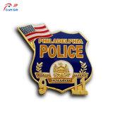 Distintivo della polizia personalizzato vendita calda per il ricordo