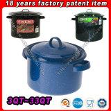 De Pot van de Voorraad van de Aanbieding 3qt~33qt van de fabriek, Bouillonketel, de Bouillonketel van het Email, Cookware