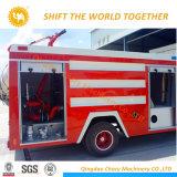 Shacman 4X2水および泡のタンカーの消火活動のトラック