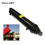 RAM telescopico a semplice effetto del cilindro dell'olio idraulico per l'autocarro con cassone ribaltabile bidirezionale