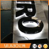 Numeri esterni di pubblicità impermeabili del metallo