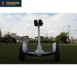 Velocidad máxima de 20km/h Scooter Hoverboard saldo de 10 pulgadas a dos ruedas