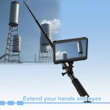 Del Fácil-Funcionamiento del Li-ion mini Digitaces sistema incorporado de la cámara de vídeo DVR del examen de la batería 1080P HD con postes telescópicos para la acuacultura