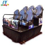 Film-Kino-Simulator-Theater der Unterhaltungs-elektrisches Hydraulikanlage-5D 7D