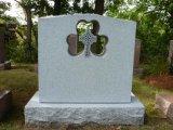 Het Russische Monument/de Grafsteen/de Grafzerk van het Graniet van China van de Stijl Zwarte voor Verkoop