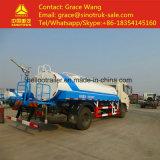 El tanque de agua de Sinotruk HOWO 10cbm y carro de petrolero para la venta