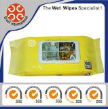 Wipes стеклянной чистки пола кухни домочадца влажные