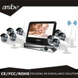 câmara de segurança do CCTV do jogo do IR WiFi P2p NVR da disposição 8CH para a HOME
